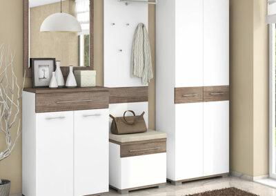 Moderno belo predsoblje Milla Azur